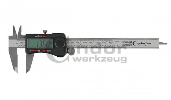 Condor 1360EX Digital-Messschieber, metrisch / zöllig, 150 mm