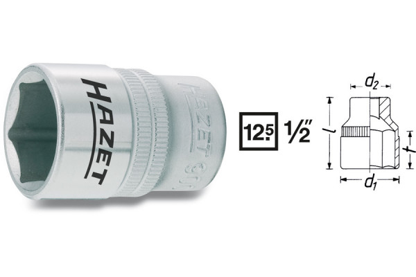 HAZET 900-10 Sechskant-Steckschlüssel-Einsatz