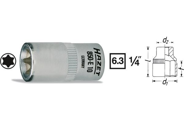 HAZET 850-E7 Torx-Steckschlüssel-Einsatz
