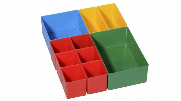 ProServe Insert 2, Einsatzboxen-Set 270x216x63mm für Koffer und Schubladen,