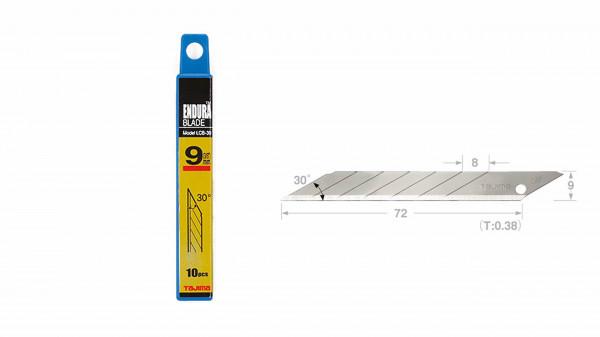 TAJIMA Spezial-Klingen 9mm 30° für LC390B Box á 10 Stk.