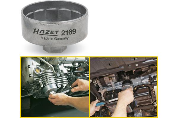 HAZET 2169 Ölfilterschlüssel