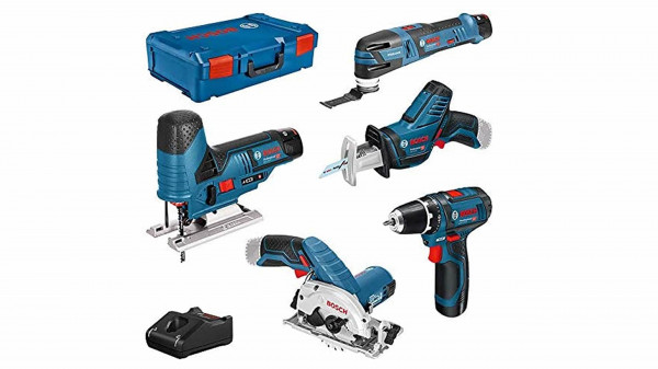 BOSCH 5-Tool-Set 12V in XL-BOXX