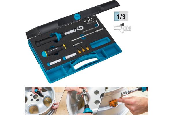 HAZET 669/10 Reifendruck-Kontrollwerkzeugsatz