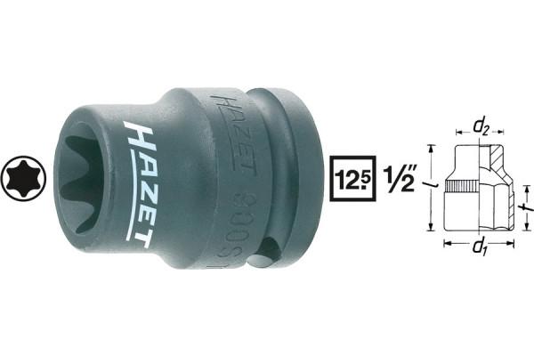 HAZET 900S-E18 Kraft-Torx-Steckschlüssel-Einsatz