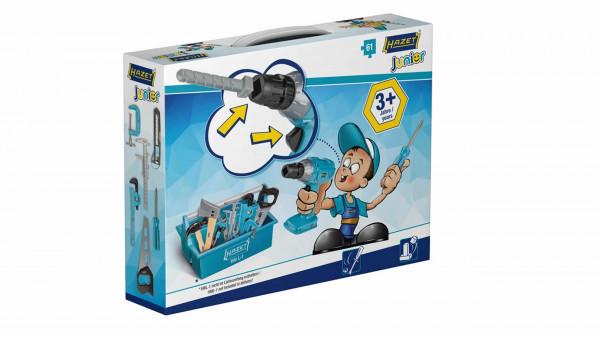 HAZET Juniortool1 Spielzeug-Werkzeuge 61 tlg.